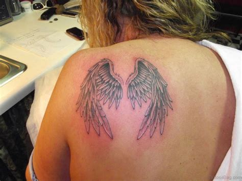 wing shoulder tattoo 84 amazing wings shoulder tattoos