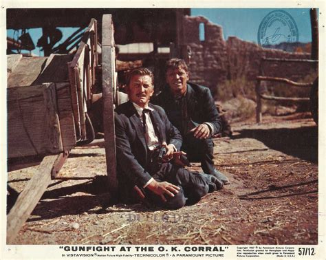 imagenes del ok corral kirk douglas burt lancaster quot gunfight at the o k corral