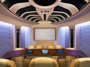 Themed home theaters 1 star trek home theater jpg rend hgtvcom 1280