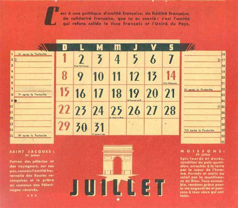 Calendrier De 1945 Calendrier Scouts De De 1945 Latoilescoute
