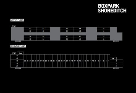 Cape Floor Plans boxpark london s first pop up shipping container mall