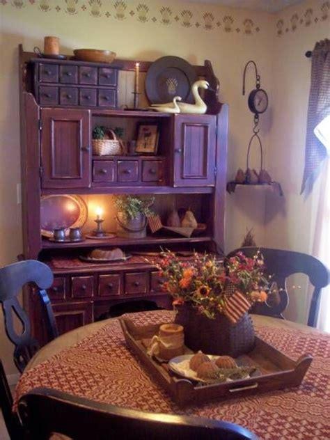 pretty dining room primitive home decor