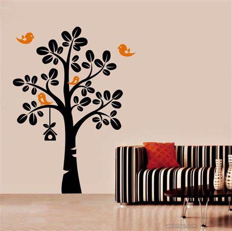 50 beautiful designs of wall decals and wall stickers for