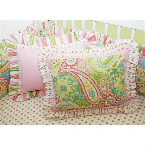 Paisley Baby Bedding by Paisley Crib Bedding Set By Doodlefish
