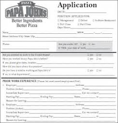 Job application printable burger king applications picture