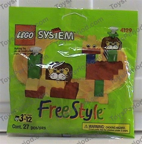 Lego Part Ac23 14pcs lego 4129 freestyle trial size set parts inventory and lego reference guide