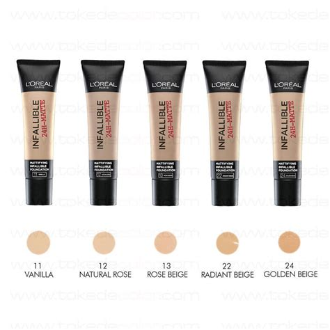 L Oreal Infallible Pro Matte Foundation Shade Golden Beige foundation infallible matte l oreal 13 beige toke