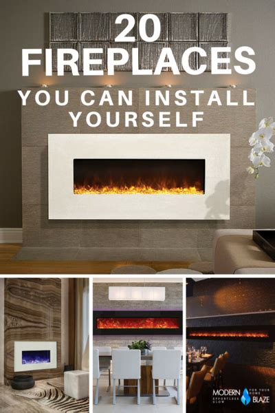 Idee Wohnzimmer 4428 by 20 Modern Fireplaces That You Can Install Yourself