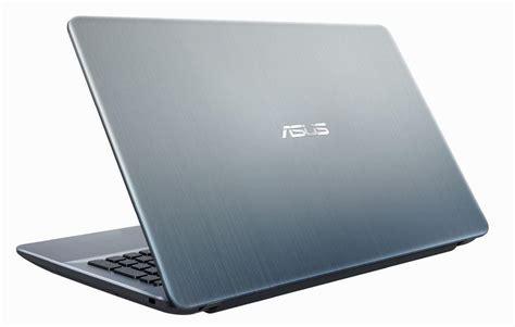 Asus X541na Celeron N3350 Ram 4gb Hdd 500gb 156 Dos asus x541na go123t intel celeron n3350 15 6 quot hd 4gb 500gb intel hd noodd win 10 silver laptop