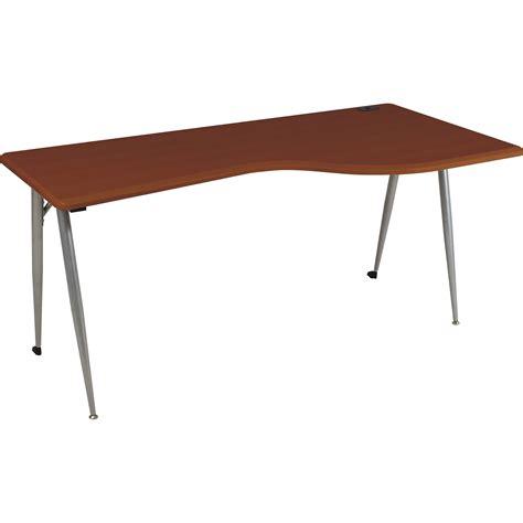 Balt Computer Desk Balt Iflex Large Desk Right Cherry 90000 B H Photo