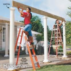 How To Build A Pergola Step By Step by How To Build A Pergola Step By Step Davis Homemade Amp Diy