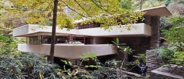 falling water house 21st century architecture frank lloyd wright ahead by a