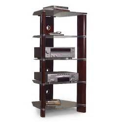 Audio Racks And Towers Bush Segments Audio Tower Walmart