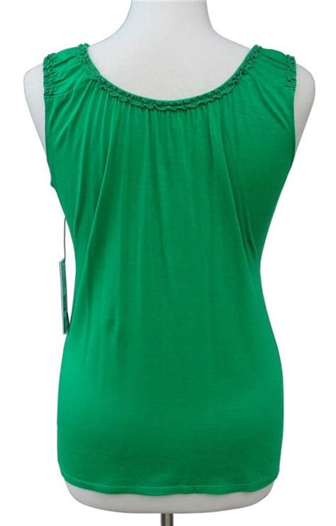 Jny Co Sweater Banana Sweet Opika t tahari by elie tahari shamrock green phantom knit top