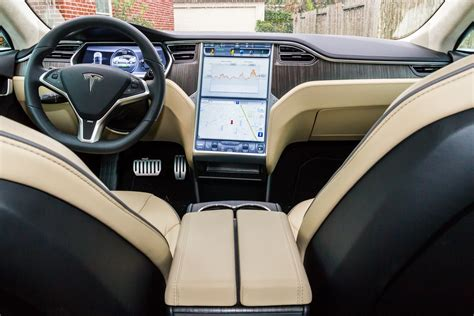Tesla Cars Interior by Review Tesla Motors All Electric Model S Is Fast But Is