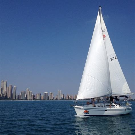 chicago boat rental belmont harbor 6 ways to get on a boat in chicago urbanmatter