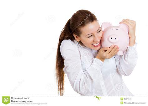 Pretty Corporate Hugging Piggy Bank Royalty
