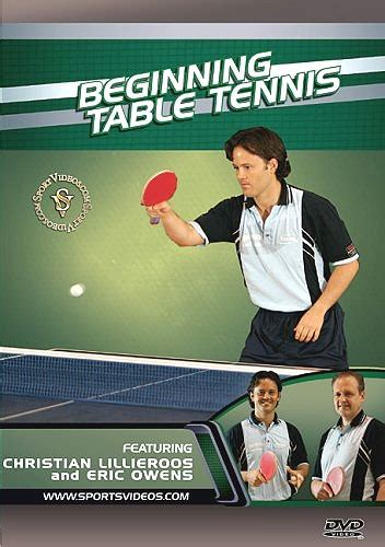 table tennis tips lessons and tutorials a research