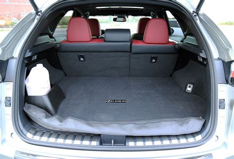 lexus nx interior trunk comparison review 2015 lexus nx 200t vs 2015 land rover