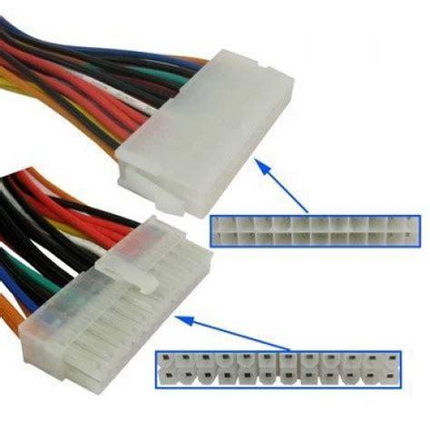 Kabel Konverter 20 Pin To 24 Pin 24 pin to 24 pin atx verleng kabel
