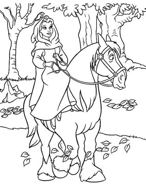 armadio e la bestia disegno di a cavallo da colorare per bambini