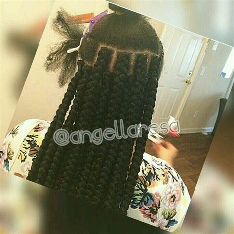 wiki how to put box braids in a bum 25 best ideas about jumbo box braids on pinterest