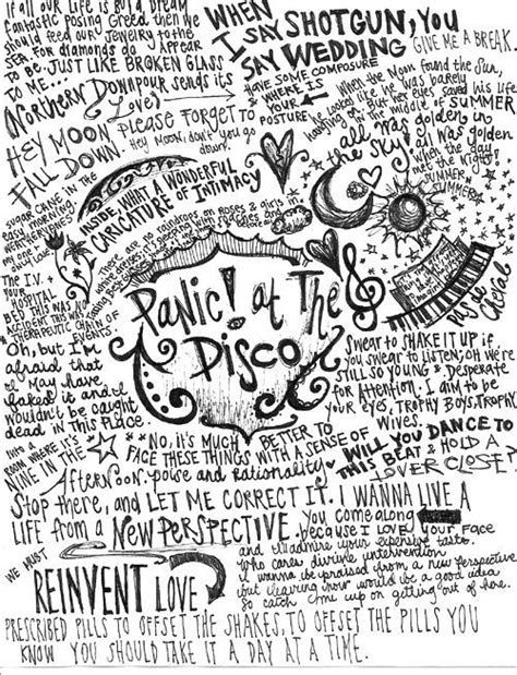 panic at the disco best song panic at the disco lyric quotes quotesgram