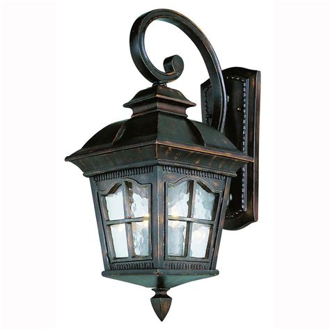 Coach Lights Outdoor Bel Air Lighting Bostonian 3 Light Outdoor Antique Rust Coach Lantern With Water Glass 5420 Ar