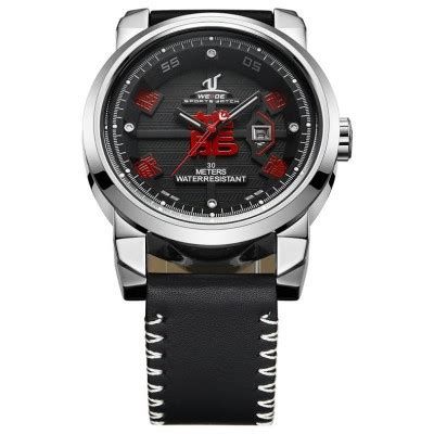 Jam Tangan Dw Leather Kulit Black 1 weide jam tangan analog kulit uv1509 black jakartanotebook