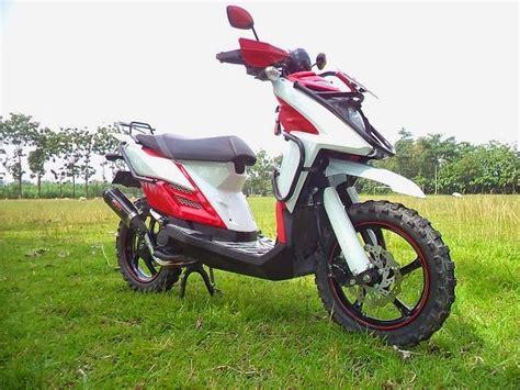 Lu Hid Motor X Ride modifikasi motor yamaha x ride touring curan otomotif