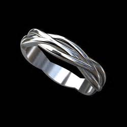 Infinity Wedding Band Platinum Modern Twisted Shank Infinity S Wedding Ring