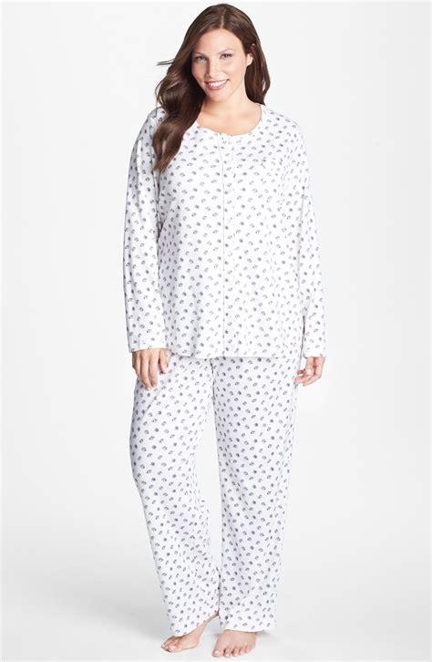 knit pajamas carole hochman designs carole hochman knit pajamas in