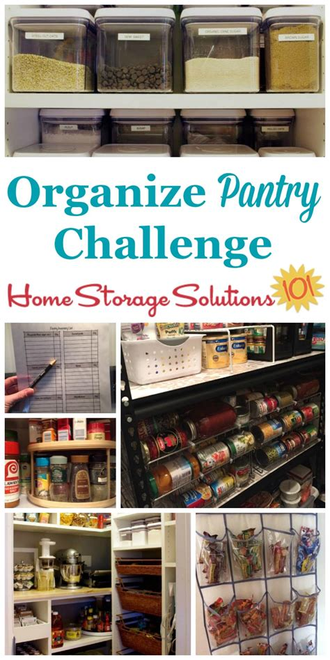 Organize Pantry Spices Food Storage Areas