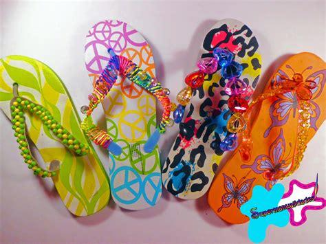 como decorar unas sandalias con liston decora tus sandalias en este verano supermanualdades