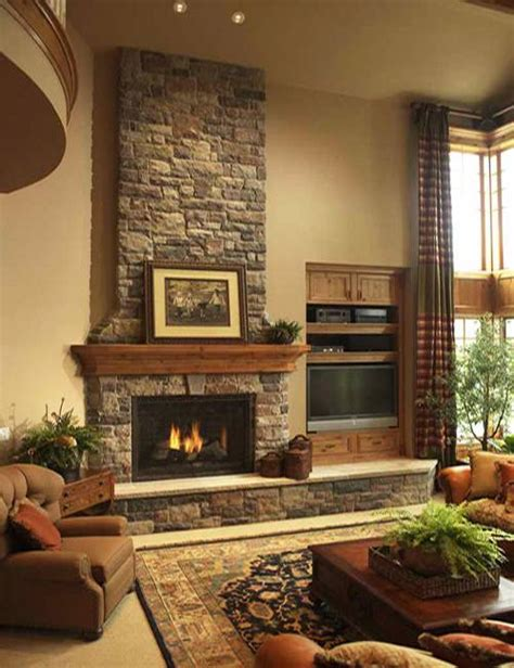 Living Room Design Ideas With Fireplace | 85 ideas for modern living room designs with fireplaces