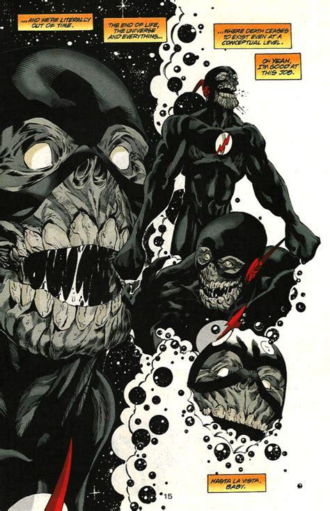 Flash Robo Black Original black flash vs black racer battles comic vine