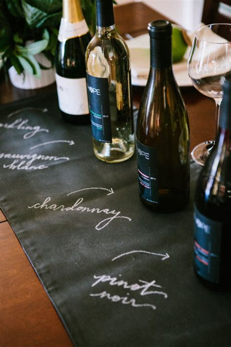 how to host a wine tasting party ideas wine folly let your runner serve double duty by using it to identify