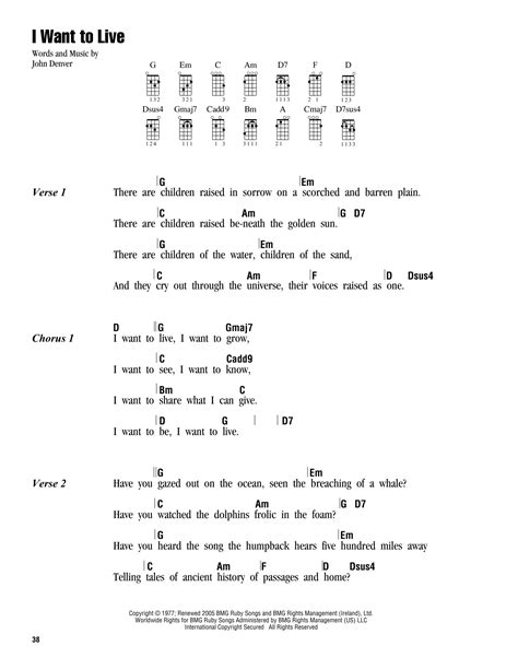 pattern lyrics other lives i want to live sheet music direct