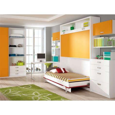 Hermoso  Camas Abatibles En Madrid #7: Dormitorios-con-literas-abatibles-verticales-para-chicas.jpg