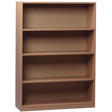 beech bookcase with 2 adjustable shelves from early