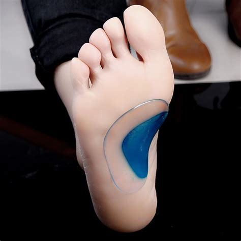 Medial Arch Support Insole For Flat Foot Kaki Lepek Cushion orthotic arch support insole flat fo end 8 27 2017 3 02 pm