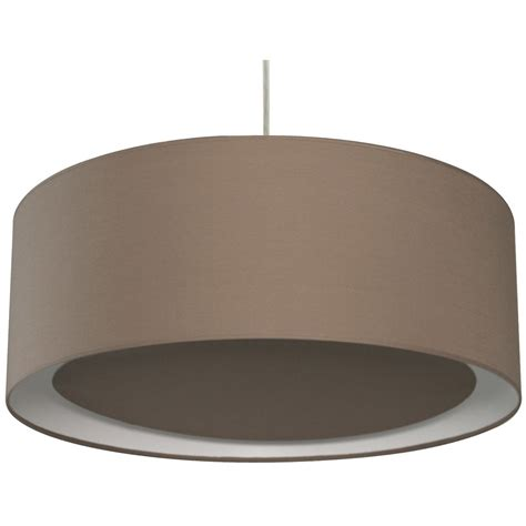 Suspension Contemporain Essentiel coton brun taupe n°3 1 x