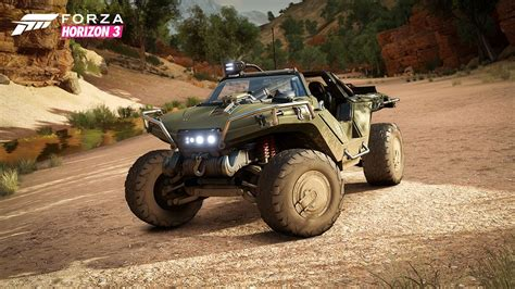 halo warthog you ll be able to drive halo s warthog in forza horizon 3