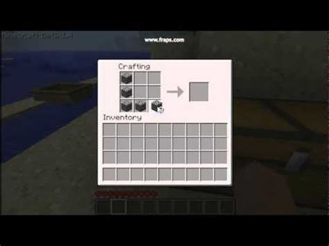 How Do You Make A L In Minecraft minecraft how to make a furnace