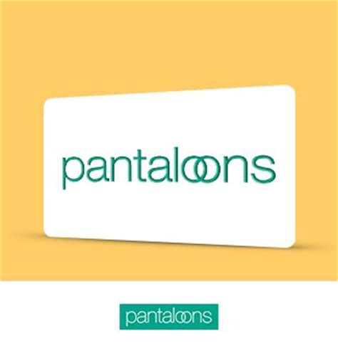 Pantaloons Gift Card - gift cards vouchers online buy gift vouchers e gift cards online in india