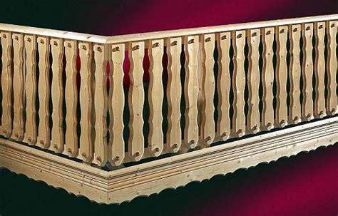 Balkongeländer Holz Einzelteile holzbalkongel 228 nder holz balkongelaender holzkomplett de