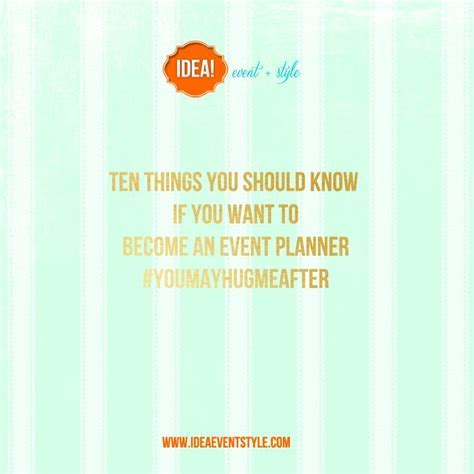 Best 25  Event planners ideas on Pinterest