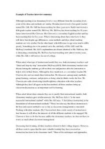 sample interview essays best photos of examples of a written interview example best photos of sample interview essay apa style