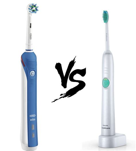 Amazon Cleaning by Oral B Vs Sonicare Who Makes The Best Electric Toothbrush