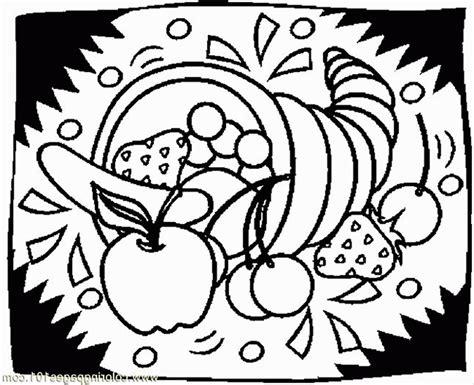 free coloring page of a cornucopia free printable cornucopia coloring pages coloring home